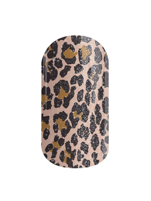 Leopard Chase - Nail Lacquer Strips