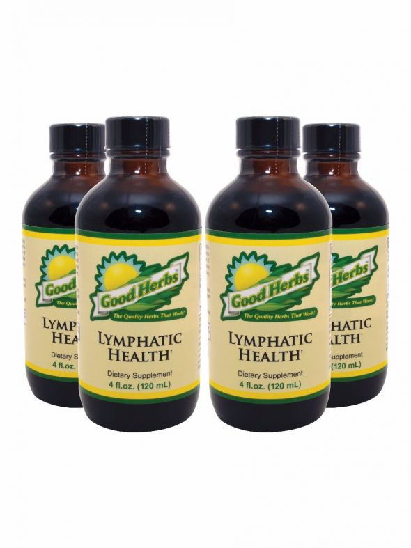 Lymphatic Health (4oz) - 4 Pack