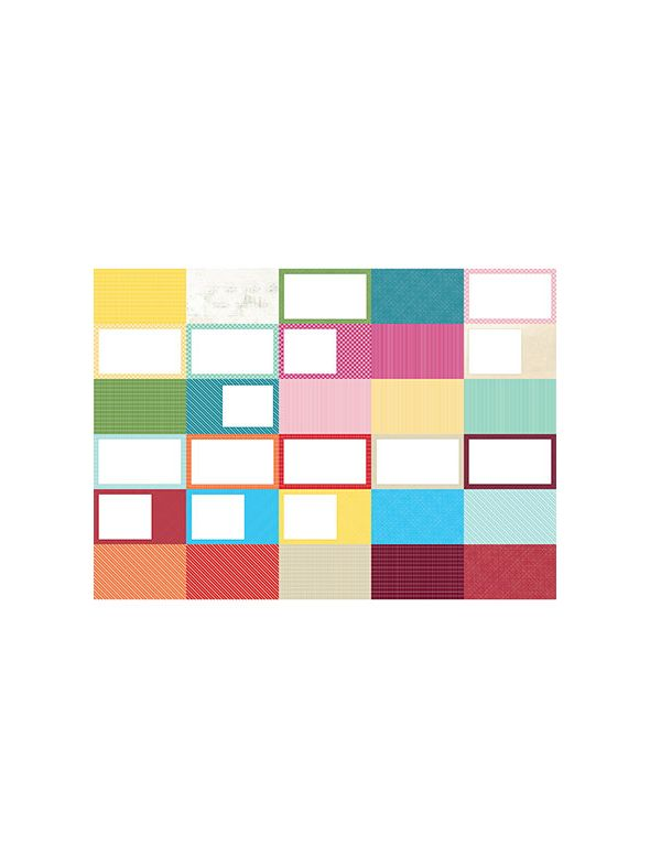 Pocket Wonder II Designer Coordinates Journal Card